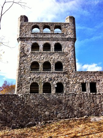 "Hamden, CT: ""The Castle"" at the top of Sleeping Giant State Park"