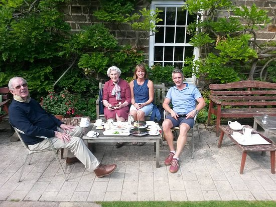 Restaurant at Lastingham Grange: Best place in the Wolds for Afternoon tea