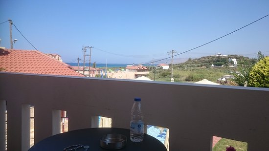 Kokalas Resort Georgioupoli: view from room 207