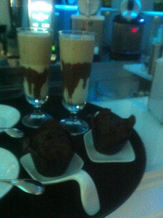 Caffetteria Ranieri: Mafin & milkshake che bonta'!