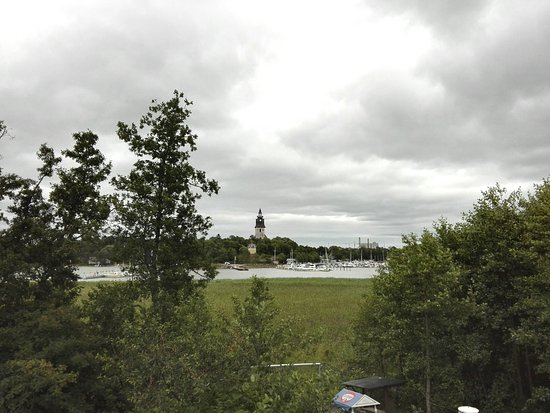 Finlandia occidental, Finlandia: Blick von der Muminwelt nach Naantali