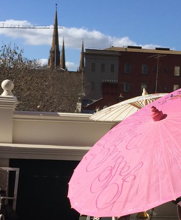 Madame Brussels Parasol - you can buy one instead of pinching one!