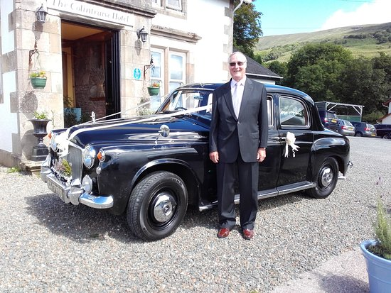 Colintraive, UK: 1960 P4 Classic Historic CA 171990 ex Cape Town South Africa leaving for Clachan of Glendaruel