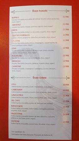 Peronnas, ฝรั่งเศส: Pizzas à emporter
