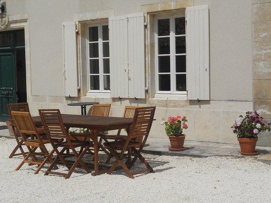 Le Tatre, Frankreich: Terrace