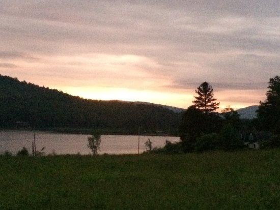 Lyme, NH: The beautiful lake at sunset!