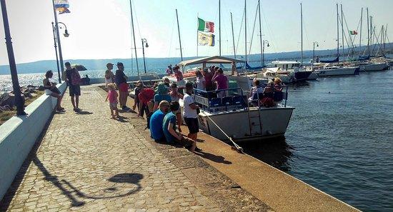 Navigazione Alto Lazio: Porto di Bolsena