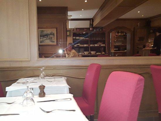 La Corte : salle du restaurant
