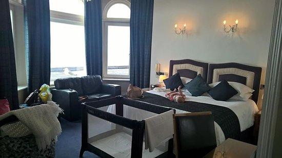 The Atlantic Hotel: Sea view superior room