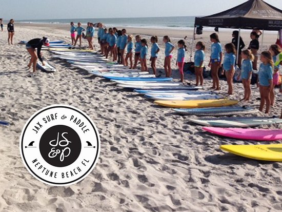 Jax Surf and Paddle: Surf Camp for Kids