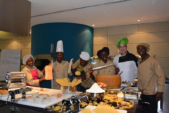 Vitruvio Restaurant: Curso de Massas