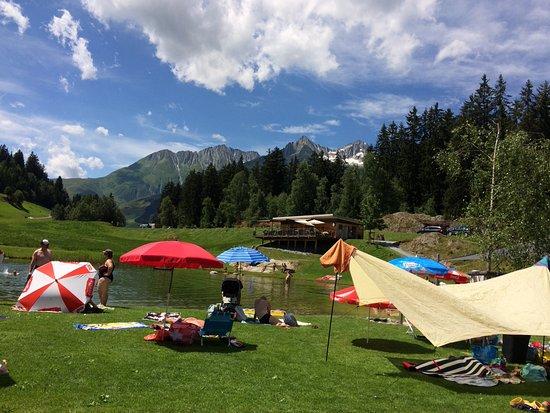 Sedrun, Switzerland: rundherum Sicht auf die Berge