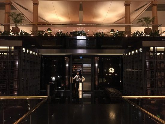 Entrance To Bar From Inside Regent Hotel Picture Of Manhattan