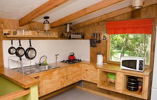 Termas de Chillan, Χιλή: Vista interior - cocina