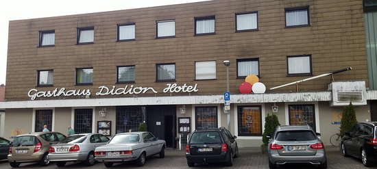 Quierschied, Alemania: Gasthaus Didion von vorn