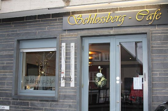 Freudenberg, Alemania: Eingang zum Schlossberg Cafe