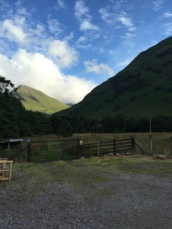 Glencoe lochen a short walk away, great place for a family picnic