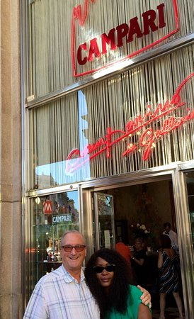 Camparino in Galleria: Campari Bar - away from the heat and the throngs at the Doumo 2.