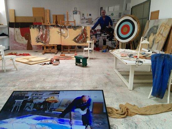 L 39 atelier de c sar manrique picture of casa museo - Casa museo cesar manrique ...