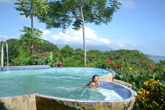 Totoco Eco-Lodge: awesome view at the pool