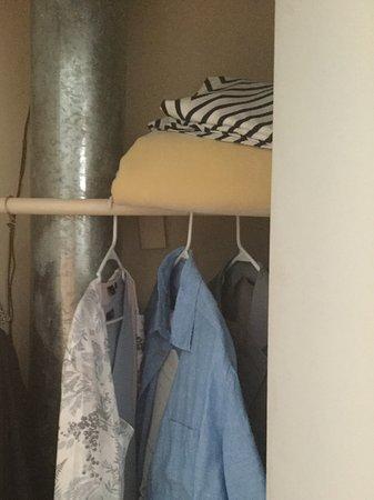 Island Inn: Inside wardrobe