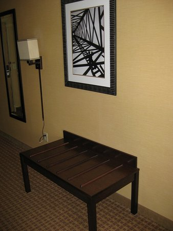 Toilet with grab bars - Picture of Holiday Inn Express Gillette ...