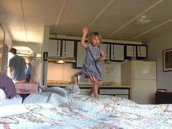Washburn, WI: inside of room