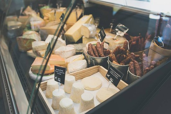 Val-d'Or, Canada: Fromages et saucissons
