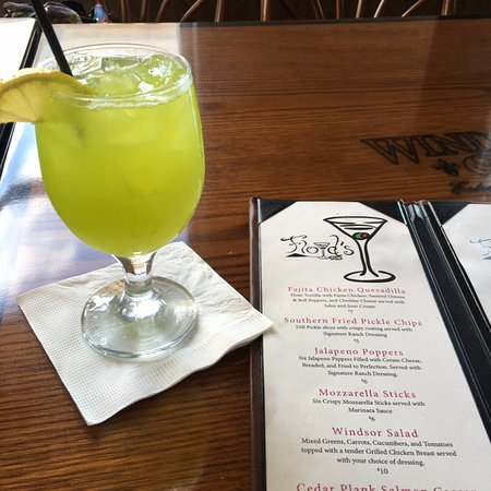 Americus, GA: Their special June Bug cocktail - so delicious!