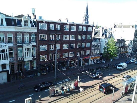 Hotel Abba: Vista dalla stanza all'ultimo piano