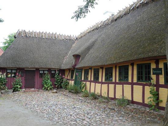 The Funen Village: De Kro (herberg, waar het eten zeer goed was!)