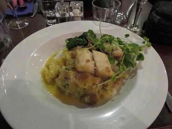 The Bellachroy Restaurant : Salt baked cod mains at The Bellachroy