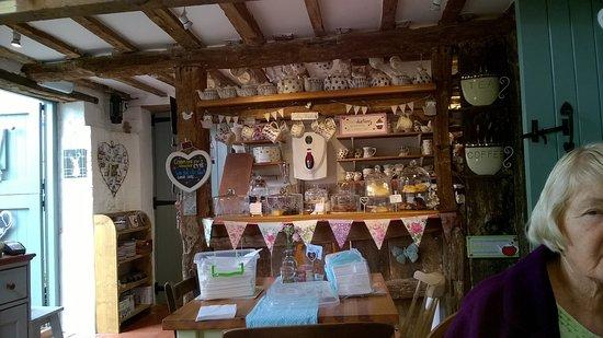 Amberley, UK: Inside