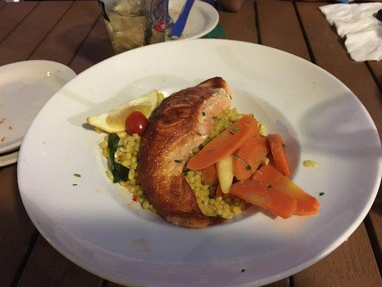 The Beachead Restaurant: salmon