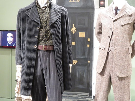 Heritage Museums & Gardens: Special exhibit of Sherlock Holmes outfits