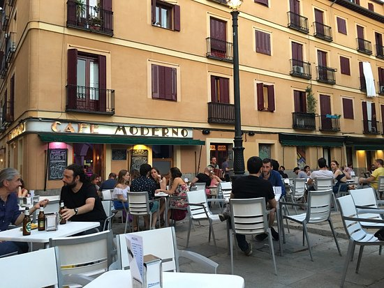Cafe Moderno Madrid Conde Duque Restaurant Reviews