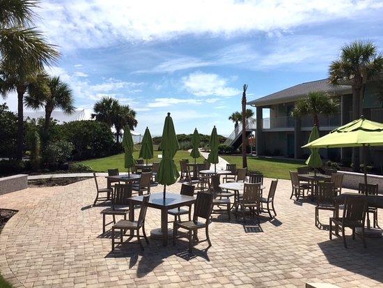 Holiday Inn Resort Jekyll Island Beach House Restaurant Outdoor Seating