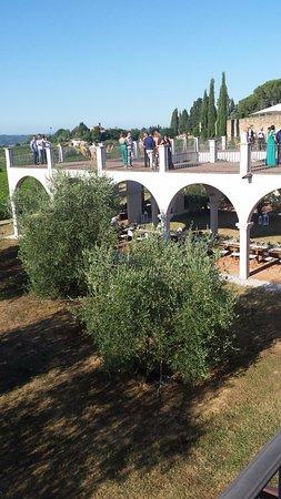 Castagnole Lanze, Italia: Terrazza