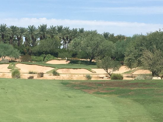 Faldo Course Bunker Protected Green Picture Of
