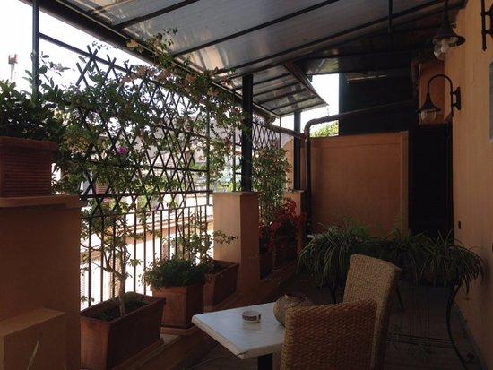 Hotel Grifo: terrace