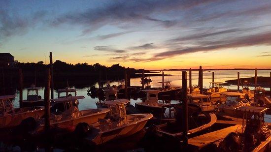 Mattakeese Wharf: SUNSET FROM THE RESTARAUNT
