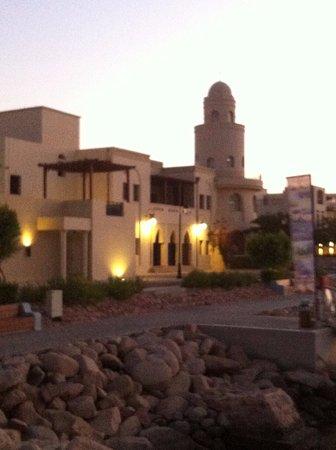 Radisson Blu Tala Bay Resort, Aqaba: Вечерний отель