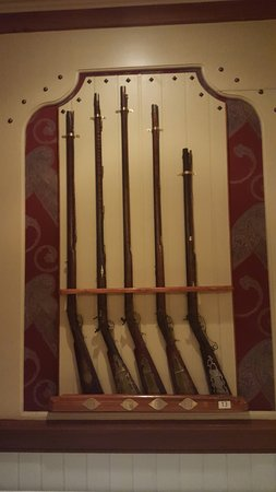 Marietta, OH: In the Gun Room