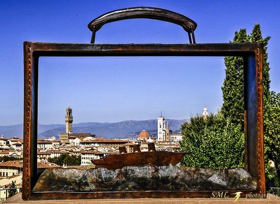 Panorama di firenze dal giardino delle rose picture of folon e il giardino delle rose - Giardino delle rose firenze ...