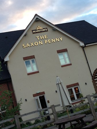 The Saxon Penny: Front of the pub