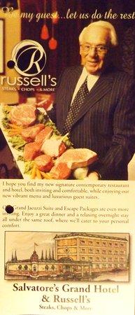 Salvatore's Grand Hotel: Classy Hotel and restuarant