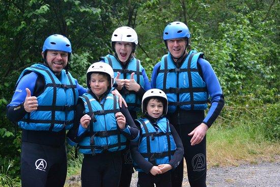 Riders Refuge Chalet Eterle: Rafting crew