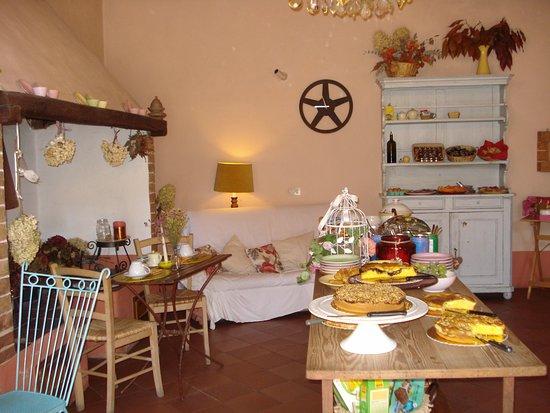 Locanda del Loggiato: Sala breakfast