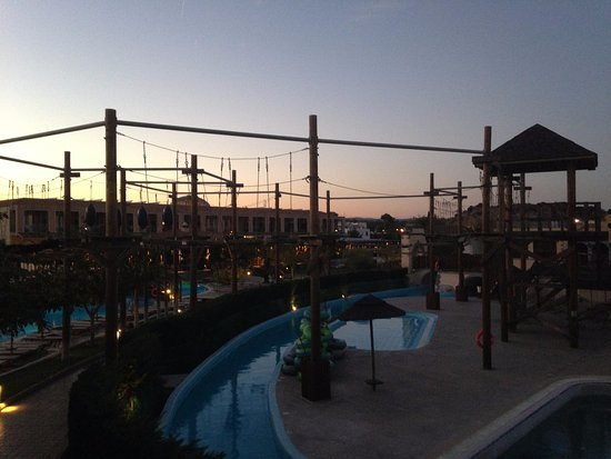 Holiday Village Rhodes: high ropes course