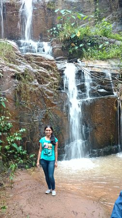 Rippon Mount Resorts: Waterfall within the resort area
